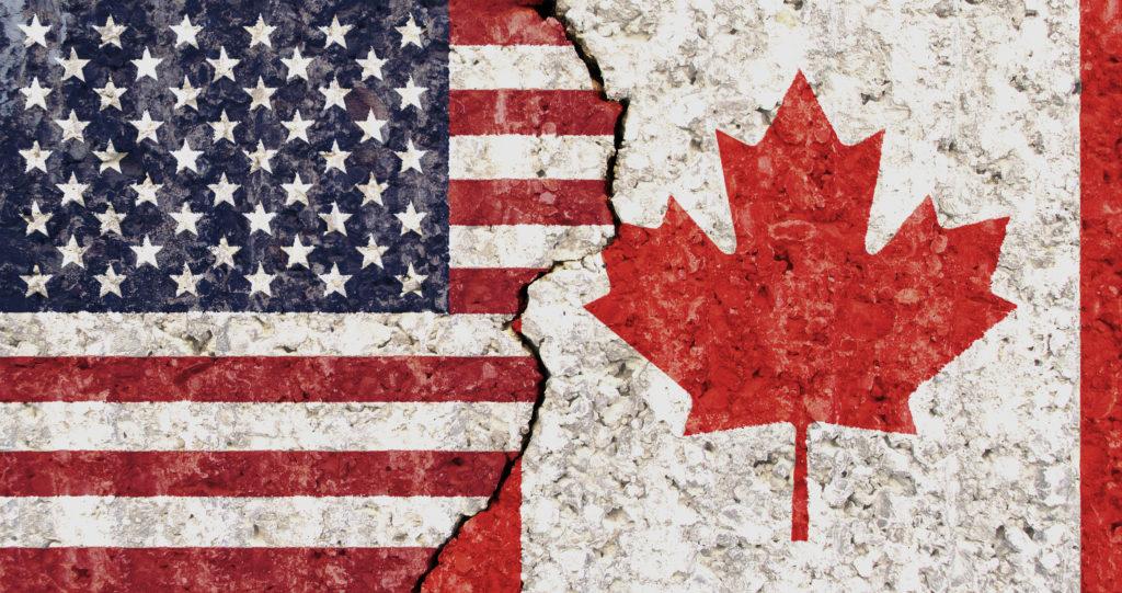 Kết quả hình ảnh cho Canada vs Mỹ